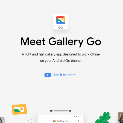 Google lance sa nouvelle application Google Gallery GO