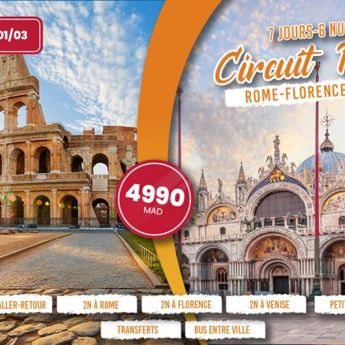 Annonce: Circuit Italie