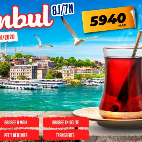 Annonce: FLASH SALE ISTANBUL
