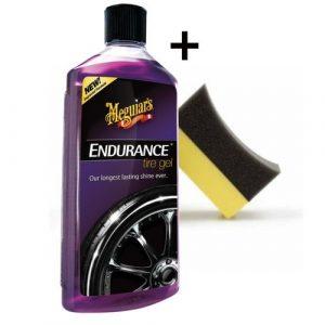 PACK ENDURENCE GEL brillant pneus
